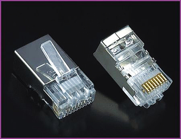 RJ45 Plug FTP for CAT5e Cable