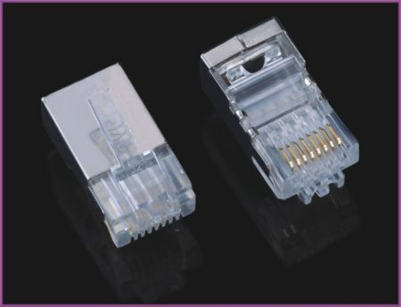 RJ45 Plug FTP For Cat6 Cable(4/4)