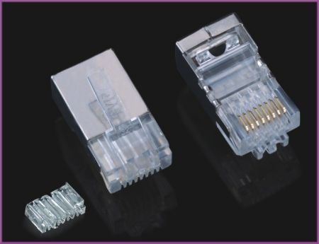 RJ45 Plug FTP For Cat6 Cable (4/4)