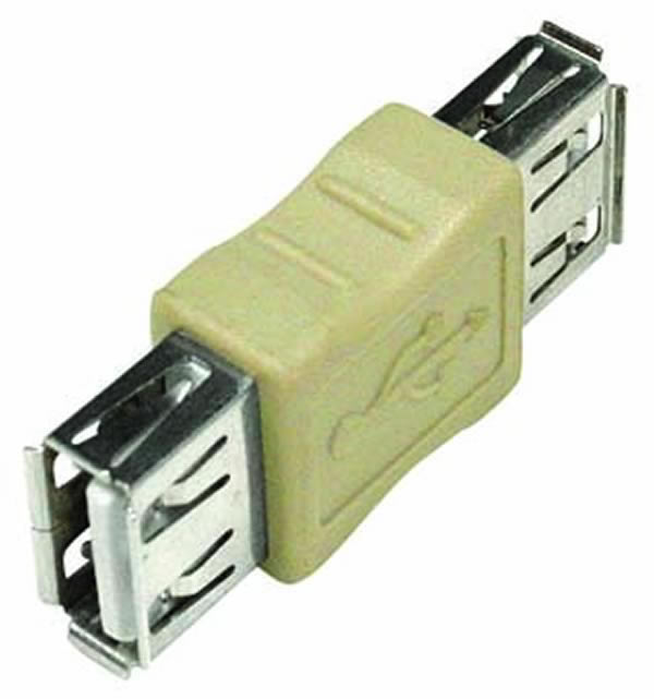 USB Type A Female to A Female Adapter
